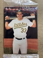 Jose Canseco 1990 Mother's Cookies Baseball Card. Sealed, 2/4. Oakland Athletics