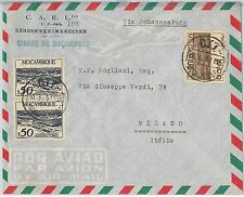62377  -  MOZAMBIQUE Moçambique  - POSTAL HISTORY:  AIRMAIL COVER to ITALY 1951