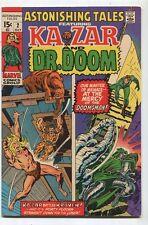 Astonishing Tales #2 VF Ka Zar And Dr. Doom Kraven The Hunter  Marvel  SA
