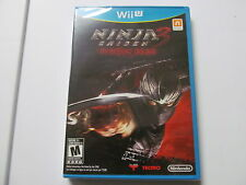 NINJA GAIDEN 3 RAZOR'S EDGE Nintendo Wii U game new sealed, global shipping