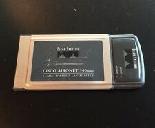 CISCO Aironet 340 PC Card Adapter AIR-PCM342 •FREE SHIPPING•