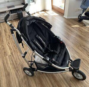 TFK Buggster S Air Black mit Quickfix wanne NEU Babyschale