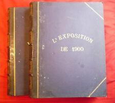 L'exposition de Paris 1900 (2 tomes)