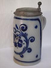 Rare****antigue german beer mug / beer stein / jug Westerwald, fine stoneware