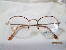 New Polo Ralph Lauren Rx Eyeglasses Frames 66L Tortoise & Gold 49-19-140