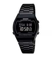 Casio Classic Digital Watch With Stainless Steel Bracelet - Black (B640WB-1AEF)