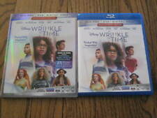 Disney A Wrinkle In Time Blu Ray/Dvd  with Slip Cover!