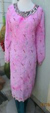 beautiful full embroidery chiffon salwar kameez Size  3XL48
