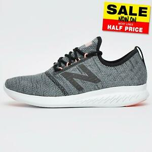 New Balance Fuel Core Coast v4 Women's Running Shoes Trainers Grey Wide Fit UK 7