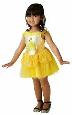 Girls Ballerina Belle Costume Disney Princess Child Fairytale Fancy Dress Outfit Infant Age 1-2 640177