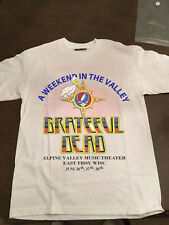 VTG 1987 Grateful Dead Rare Wisconsin Concert Tour T Shirt Alpine Valley
