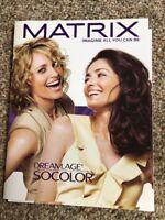 Matrix Color   Dreamage SOColor  information Paper Swatch Chart