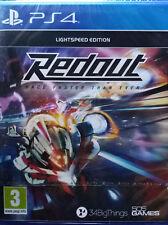 REDOUT LIGHTSPEED EDITION. JUEGO PARA PS4. NUEVO, PRECINTADO.