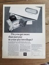 1966 New York Life Insurance do you get more than pay in your envelope ad