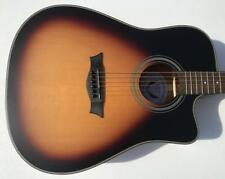 Dean SADNCE TSBS St. Augustine Solid Wood Cutaway A/E Acoustic-Electric Guitar
