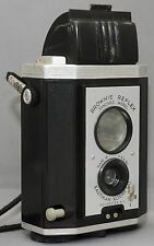 EASTMAN KODAK BROWNIE REFLEX Vintage Film Camera Synchro Model w/Strap USA CLEAN