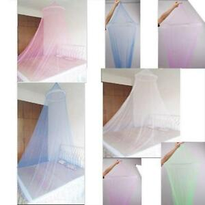 New Lace Bed Mosquito Netting Mesh Canopy Princess Round Dome Bedding Net G