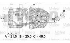 VALEO Alternador para CITROEN XSARA BERLINGO PEUGEOT 206 PARTNER 307 FIAT 437471