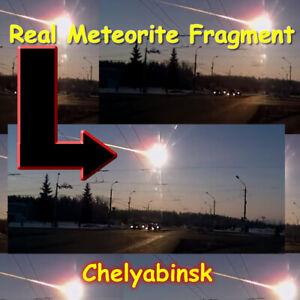 Micro Chelyabinsk Meteorite Fragment - UK Dispatch