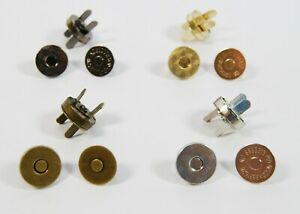 Magnetic Snap Fasteners Closures & Buttons,Purse & Bag, Sewing Leather Findings