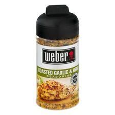 Weber Roasted Garlic and Herb Seasoning 5.5 oz. Great Dry Rub Too!