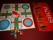Vintage 1962 Whitmans PACHISI - A GAME OF INDIA Parcheesi Board Game Made in USA