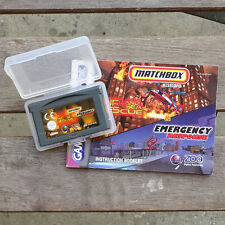 Air Land and Sea Rescue Emergency Response GameBoy Advance Matchbox AGB-BB49-EUR