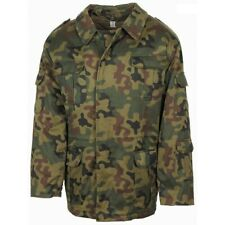 Polish Army Winter Parka Camouflage WZ93 Lined Coat Unused Army Surplus