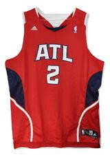 New Adidas Joe Johnson #2 Hawks Mens Size 2XL NBA Atlanta Authentic ATL Jersey