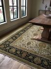 12' x 9' Hand-knotted Agra Indian Wool Carpet , Excellent Condition.