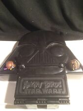 Star Wars Angry Birds Pigs Chewbacca Obi One Figures w/ Darth Vader Case