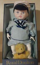 Vintage Royal Doulton Nisbet Prince William Porcelain Heirloom Toddler Doll