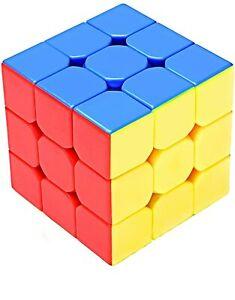 Speed Cube Made of Plastic - 3 x 3 x 3 - 6.2 cm x 6.2 cm x 6.2 cm - Free Shipp