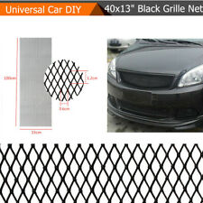 40x13'' Black Metal Car Body Intercooler Grille Net Mesh Grill Section Durable