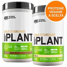 ON Optimum Nutrition Gold Standard 100% Plant Protein Vegan Gusto a Scelta 684g
