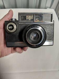 Argus Autronic II 35mm Camera, f2.8 Cintar lens - Vintage! 1960s! Tested