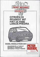 Pocket Mechanic for Citroen C8, Peugeot 807, Fiat Ulysse, Lancia Phedra, diesel