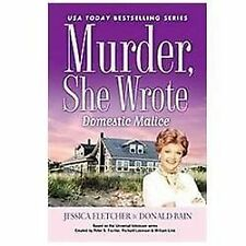 Murder, She Wrote: Domestic Malice, Bain, Donald, Fletcher, Jessica, 0451238036,
