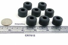 """8 Large Size Hard Rubber Bumpers– """"Rubber Feet"""" 7/8"""" Diam x 1/2"""" Ht  1/2 Inch"""