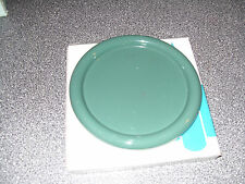 Partylite GREEN CANDLE TRAY   FOR PILLARS OR 3 WICKS