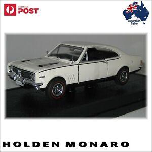 1970 Holden HG Monaro GTS 350 Kashmir White Scale 1:32  Diecast Model Car models