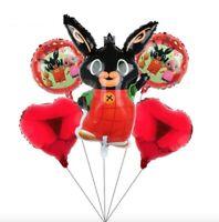 Bing Bunny Palloncini Festa Compleanno set 5 pz. bambini party