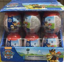 18 X Paw Patrol Super Surprise  Eggs Full Box Mega Deal