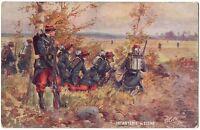 """CPA Militaria - TUCK """"Oilette"""". Infanterie de Ligne. Les Armes Françaises. 981"""