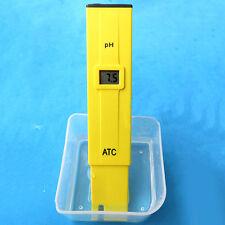 Fish Tank Pool LCD Digital pH Tester Pen Water Measure Test pH Meter up-to-date