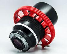Cinematics Follow Focus gear ring Belt 70~80mm adjustable for dslr rig 0.8 red