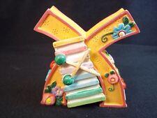 Mary Engelbreit resin Letter X xylophone flowers cherries orange 1999