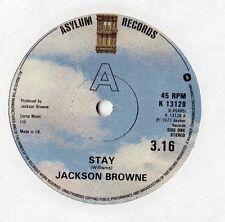 "Jackson Browne - Stay 7"" Single 1977"