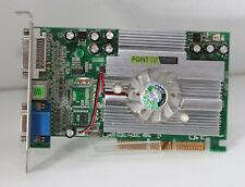 Point of View FX5500 256MB AGP Grafikkarte - DVI VGA S-Video