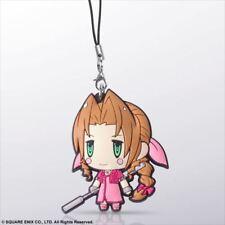 Square Enix Trading Rubber Strap Vol 4 Cellphone Charm Final Fantasy VII Aerith